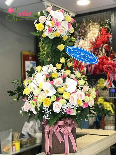 Hoa chúc mừng đẹp và sang trọng nhất